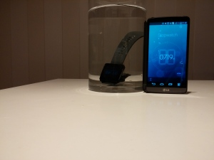 LG G Watch Water Test