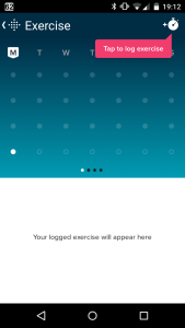 Fitbit exercise